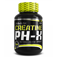 Creatinas BIOTECH USA CREATINE PH X