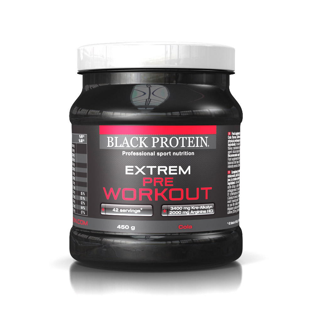 BLACK PROTEIN EXTREM PRE WORKOUT