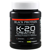 Creatinas BLACK PROTEIN K 20 Creatina