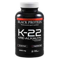 Creatinas K 22 Kre Alkalyn BLACK PROTEIN - Fitnessboutique