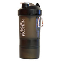 Shakers - Accesorios BLACK-PROTEIN Shaker Black Protein