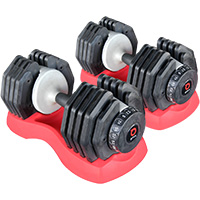 Regulables BODYSOLID Par de Mancuernas EZ Dumbells 25 kg
