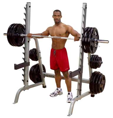 Smith Machine y Squat BODYSOLID Multi-press rack Deluxe