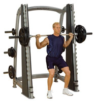 Smith Machine BODYSOLID CLUB LINE COUNTER BALANCED SMITH MACHINE SCB1000