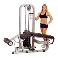 Máquina piernas y glúteos LEG CURL MACHINE SLC400G BODYSOLID CLUB LINE - Fitnessboutique