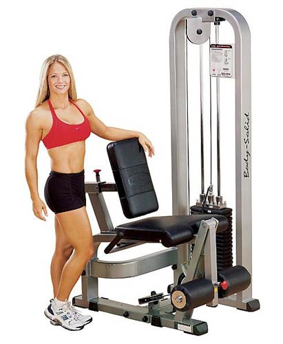 BODYSOLID CLUB LINE LEG EXTENSION MACHINE SLE200G