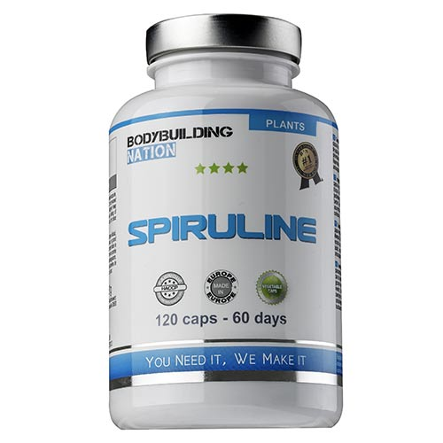 Tonificación - Vitalidad - BODYBUILDING NATION Spiruline