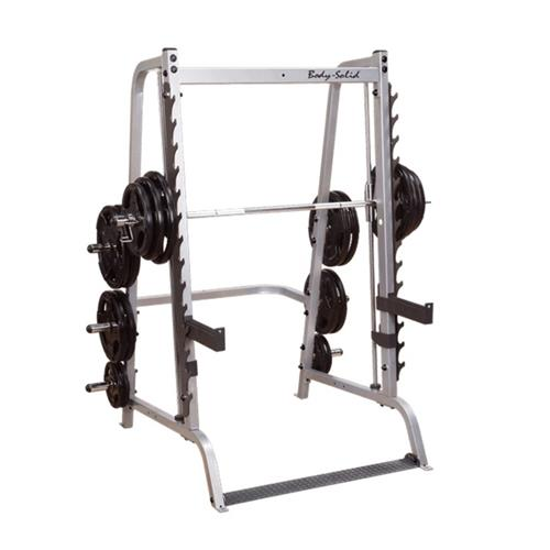 Smith Machine y Squat BODYSOLID MACHINE SMITH BASE SERIE 7