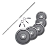 FITNESS DOCTOR PACK BARRA 1,83 M + 100 KG EN DISCOS 28 MM
