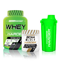 Whey proteína Harder PACK DESCUBIERTA