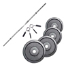 Standard - Diámetro 28mm PACK BARRA 1,52 M + 40 KG EN DISCOS 28 MM FITNESS DOCTOR - Fitnessboutique