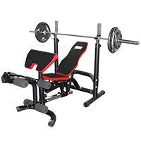 Banco de musculación FITNESS DOCTOR BLACK BENCH
