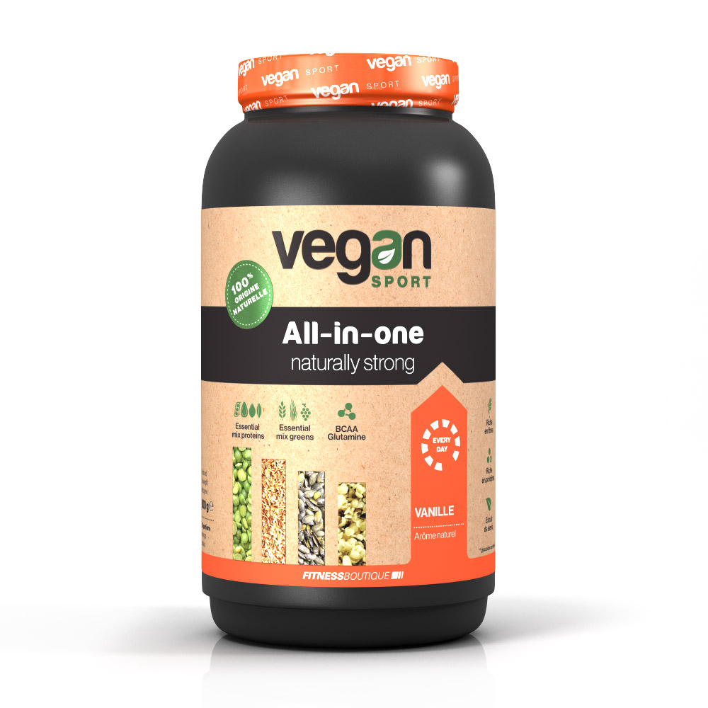 Vegan Sport ALL IN ONE NATURALLY STRONG