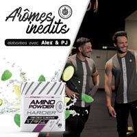 Aminoácidos AMINO POWDER HARDER HARDER - Fitnessboutique