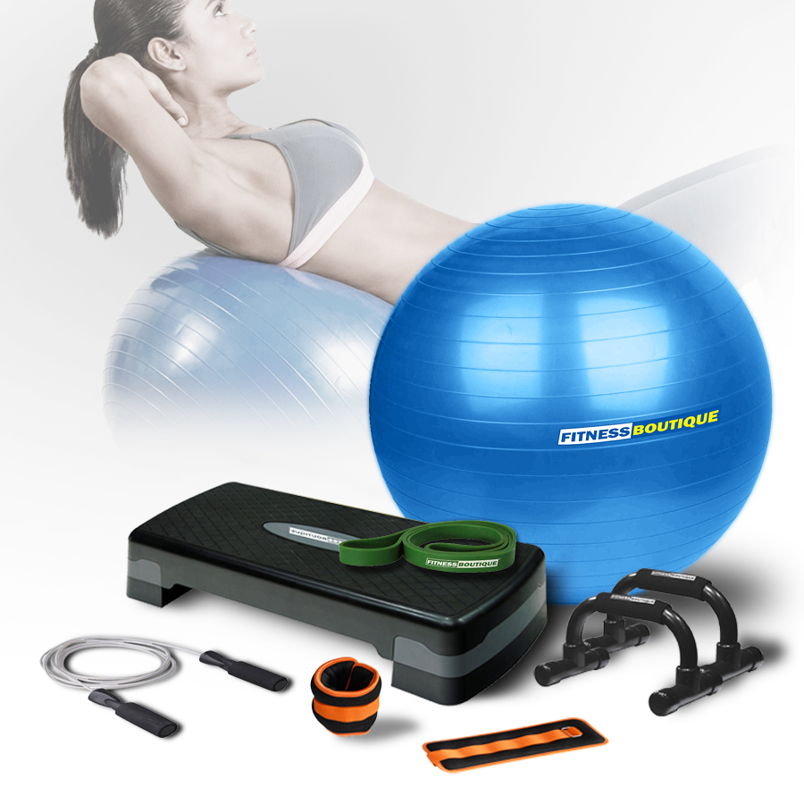 Accesorios Fitness FITNESSBOUTIQUE KIT FITNESS