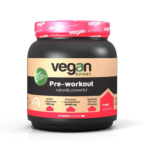 preentrenamiento VEGAN SPORT PRE WORKOUT NATURALLY POWERFULL