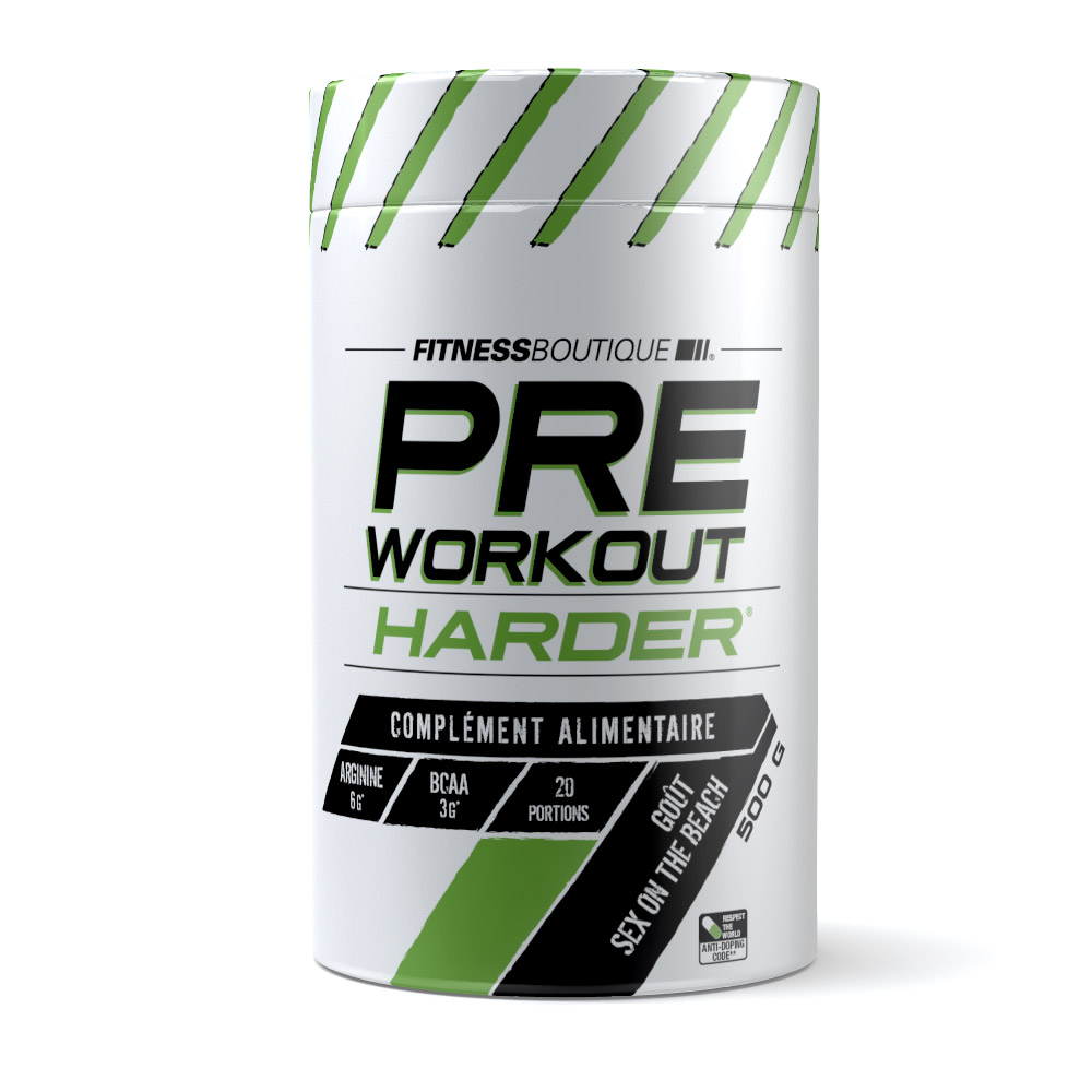 HARDER PRE WORKOUT