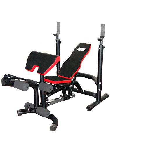 Banco de musculación BLACK BENCH FITNESS DOCTOR - Fitnessboutique