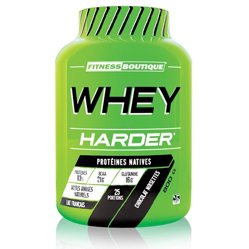 Proteína WHEY HARDER HARDER - Fitnessboutique