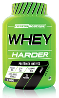 Whey proteína FITNESSBOUTIQUE HARDER Whey Harder