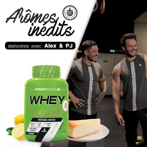 Whey proteína WHEY HARDER HARDER - Fitnessboutique