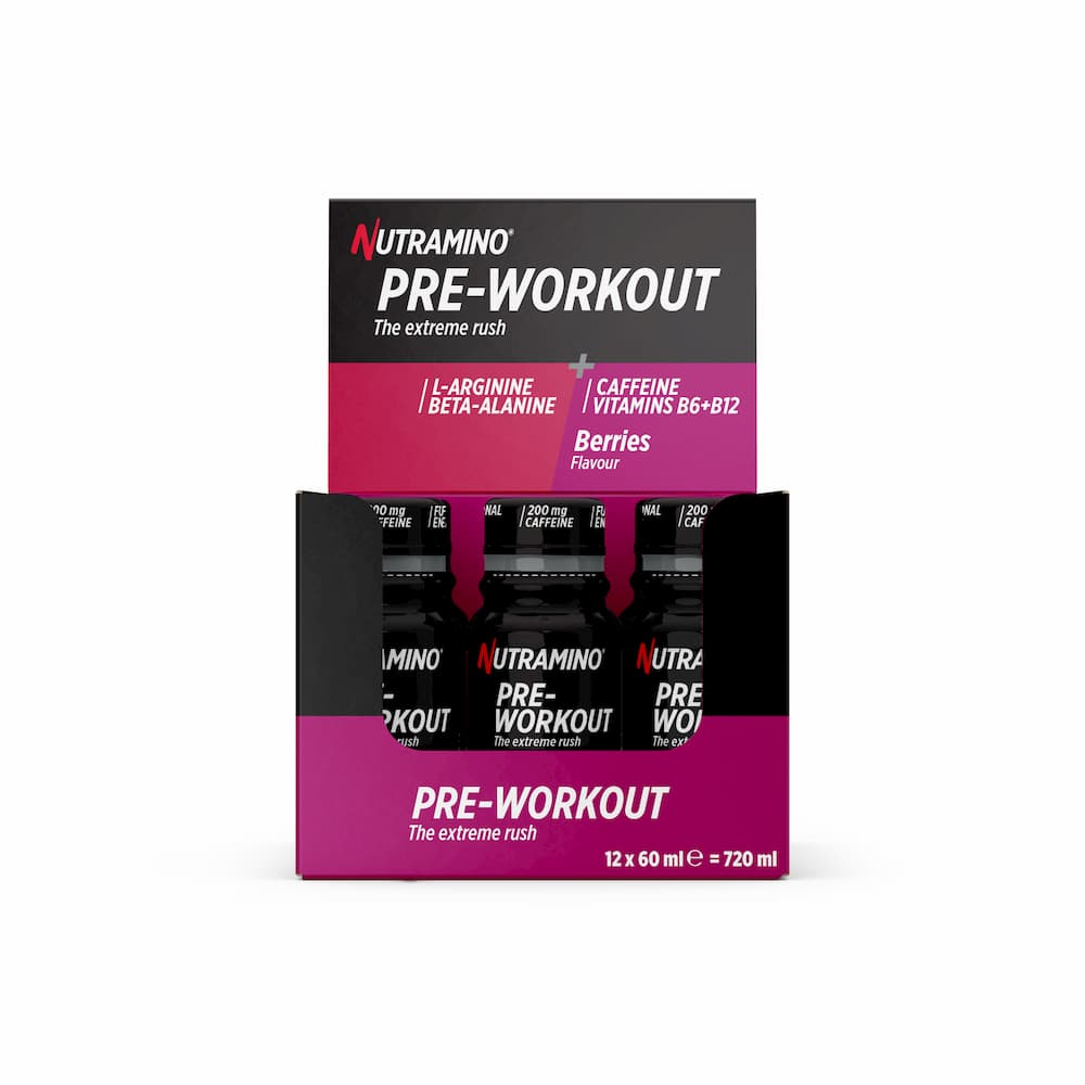 Nutramino PRE WORKOUT + PRO