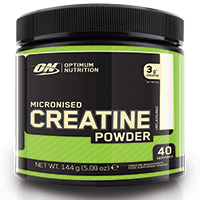 Creatinas OPTIMUM NUTRITION POLVO DE CREATINA MICRONIZADO