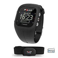 Running - Ciclismo A300 Negro HR