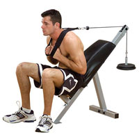 Aparatos abdominales BANCO ABDOMINALES AB BENCH PAB21X POWERLINE - Fitnessboutique