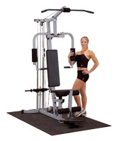 Máquina de musculación guiada POWERLINE HOME GYM