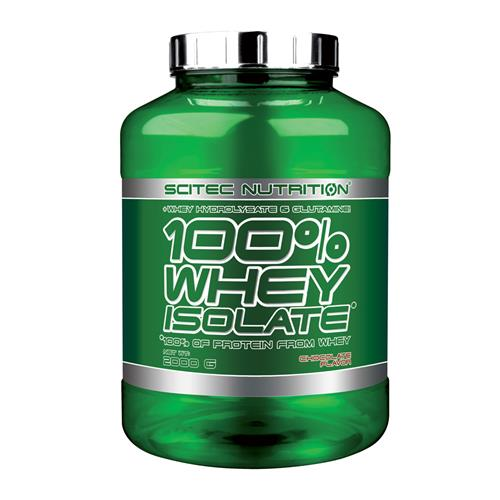 Proteína SCITEC NUTRITION 100 % Whey Isolate