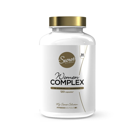 Nutrición Bienestar SECRET FITNESS WOMEN COMPLEX