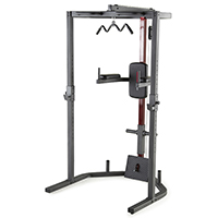 Smith Machine y Squat WEIDER PRO POWER RACK