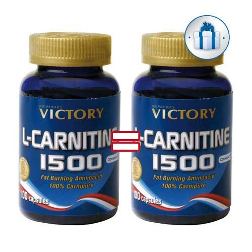WEIDERNUTRITION Duo Victory L Carnitine 1500
