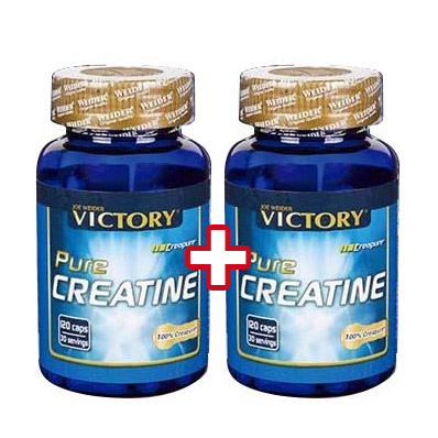 Creatinas WEIDERNUTRITION Victory Pure Creatine 120 Caps Oferta Duo