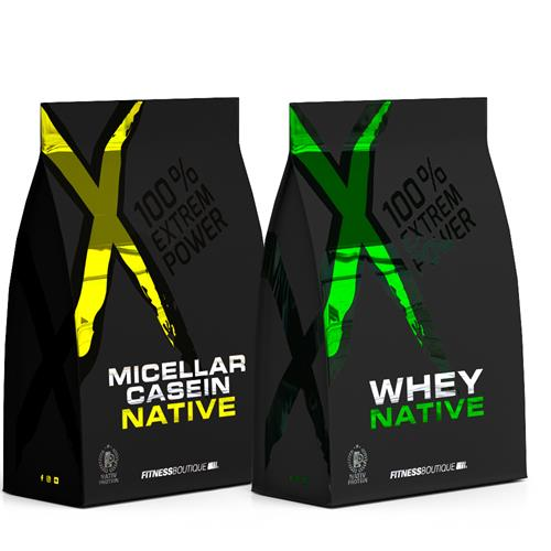 Proteína PACK PROTEINAS DIA Y NOCHE XNative - Fitnessboutique
