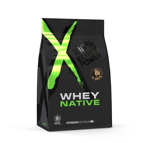 Proteína WHEY & OATS XNative - Fitnessboutique