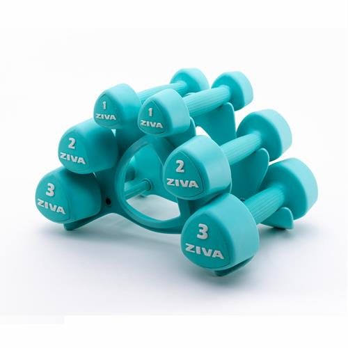 mancuernas STUDIO TRIBELL DUMBELL SET Ziva - Fitnessboutique